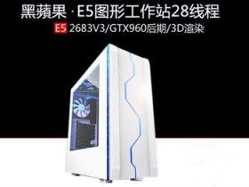 13688元E5-2683V3图形工作站4K14核28线程主机