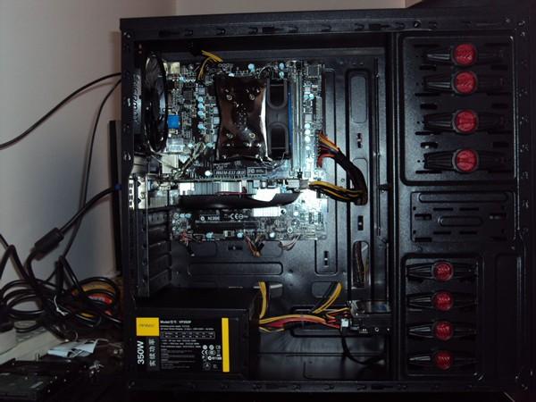 组装电脑故障排除